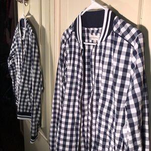 Flannel Bomber Jacket